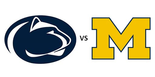 PSAA-LEC Football Watching Party: Penn State vs Michigan
