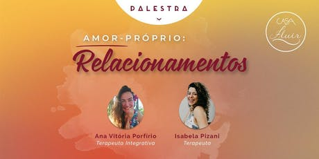 Palestra Amor-Próprio: Relacionamentos ingressos