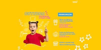 SHOW DE MÁGICA NO ESPAÇO KIDS