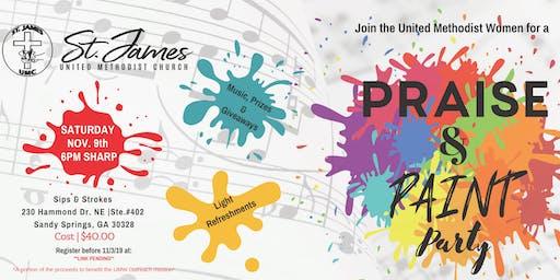 St. James UMW - Praise & Paint Party