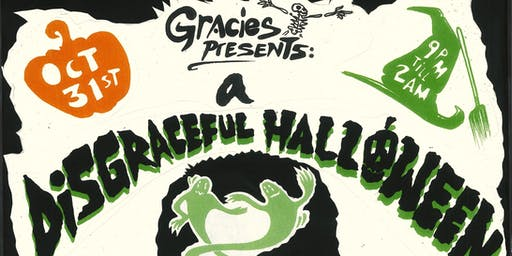 Gracie's Presents a Disgraceful Halloween