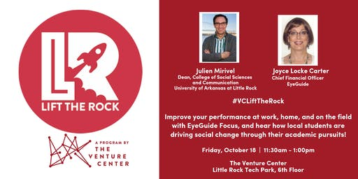 #VCLiftTheRock Presents: Julien Mirivel and Joyce Locke Carter