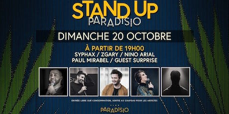 Stand-Up Paradisio #7 : Comedy Club billets