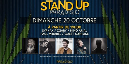 Stand-Up Paradisio #7 : Comedy Club