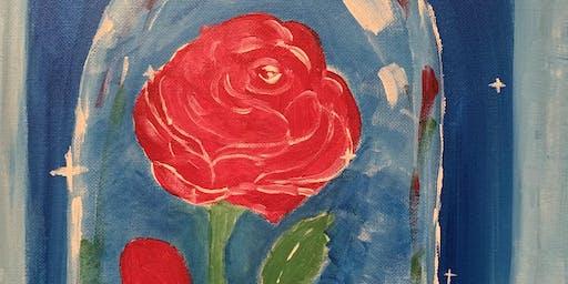 Family Paint Night (Sunday)- Beautiful Rose