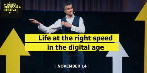 """Carl Honorè Masterclass """"Life at the right speed in the digital age"""""""