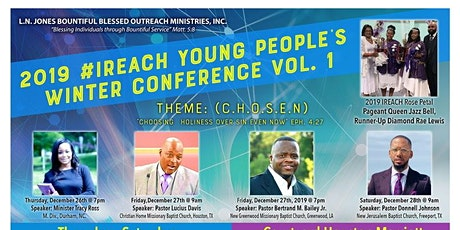 iREACH  YOUNG PEOPLE'S WINTER CONFERENCE tickets