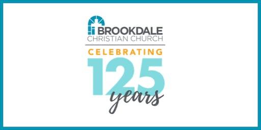 125th Anniversary Dessert Reception