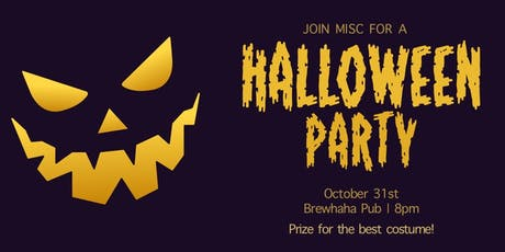 MISC Halloween Party tickets