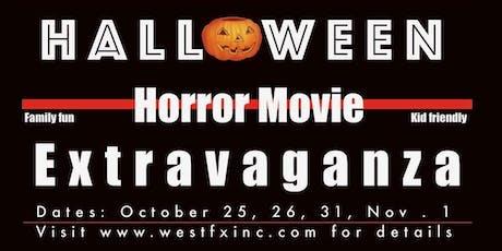 Halloween Horror Movie Extravaganza tickets