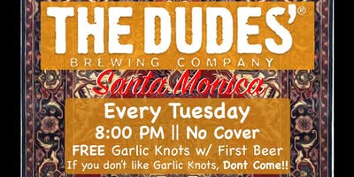 The Dudes Brewing Comedy Show