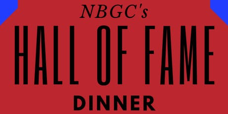 NBGC's 2019 Hall of Fame Dinner tickets