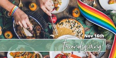 Suburban LGBTQ Friendsgiving Dinner