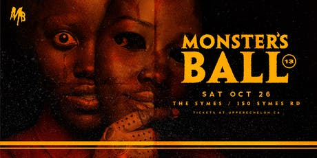 MONSTERS BALL 13 | Toronto's Best Halloween Party. tickets