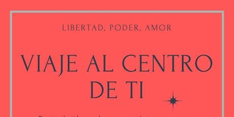 Taller  Viaje al Centro de Ti con Alvar Velasco entradas