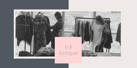 Antique | Vide dressing - Closet Clean out  tickets