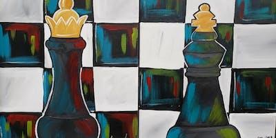 Couple's Paint: King & Queen