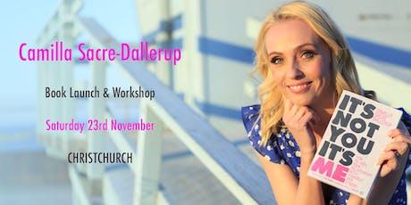 DWTS Judge Camilla Sacre-Dallerup - Book Launch & Workshop (CHRISTCHURCH) tickets