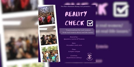 Reality Check Women's Meet Up tickets