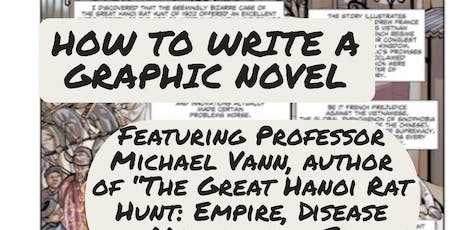 How to Write a Graphic Novel tickets