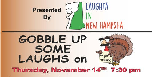 Gobble Up Some Laughs at Tandy's Comedy Club on Thursday, November 14th