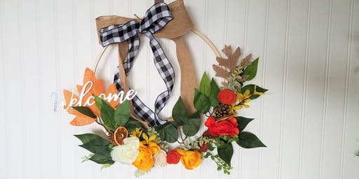 Servant Leadership - FALL Wreath