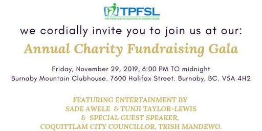 TPFSL Annual Charity Fundraising Gala