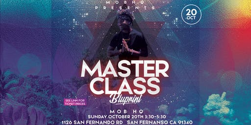 BluPrint Master Class