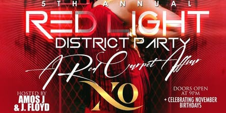 5th Annual Red Light District Party tickets