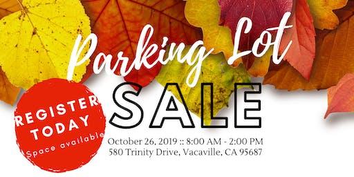 Annual Community Parking Lot Sale