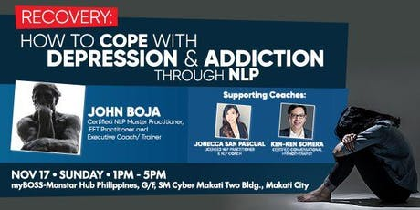 RECOVERY: How to cope with Depression and Addiction through NLP tickets