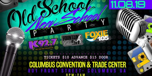Foxie 105/K92.7 Old School New School Party