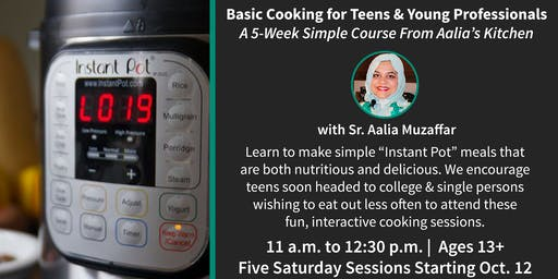 Basic Cooking for All | 5-Week Course