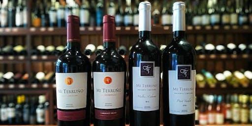 Bodega Mi Terruño. Wine Tasting