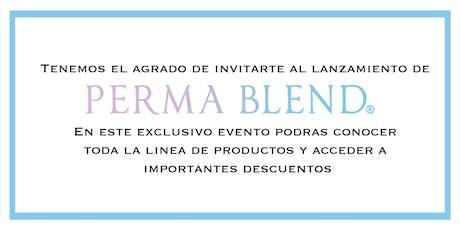 Presentación Perma Blend Argentina entradas