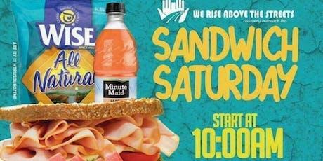 SANDWICH SATURDAY tickets