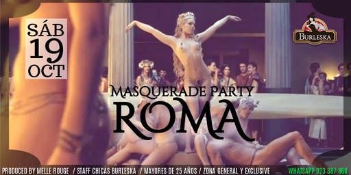 ROMA - Masquerade Sexy Party