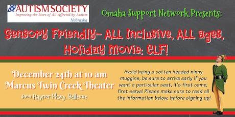 ASN's Annual Sensory Friendly Community Showing of Elf tickets