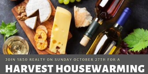 1850 Harvest Housewarming