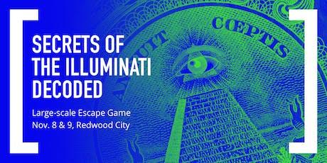 Secrets of the Illuminati Decoded: Large-scale Escape Game tickets