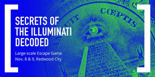 Secrets of the Illuminati Decoded: Large-scale Escape Game