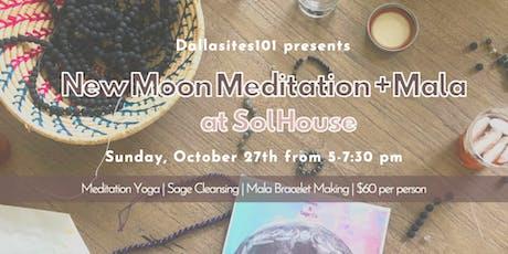 New Moon Party: Meditation + Mala tickets