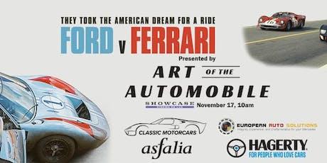 Ford vs Ferrari - Art of the Automobile viewing tickets
