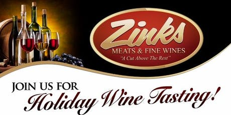 Zinks Holiday Wine Blow-Out Tasting tickets
