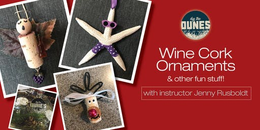 Create Your Own Wine Cork Ornaments!