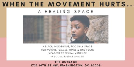 When The Movement Hurts...A Healing Space tickets