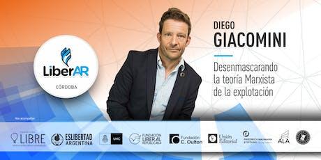 Diego Giacomini en Córdoba entradas
