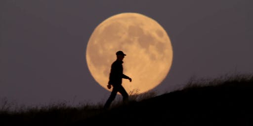 Nighttime Full Moon Walk