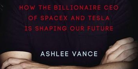 Interview and Q&A with international author Ashlee Vance tickets