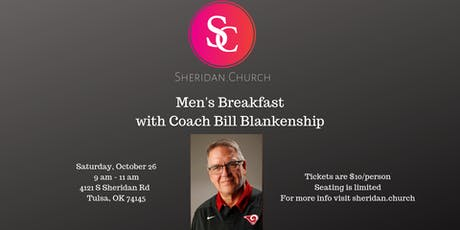 Men's Breakfast with Coach Bill Blankenship - Sheridan.Church tickets